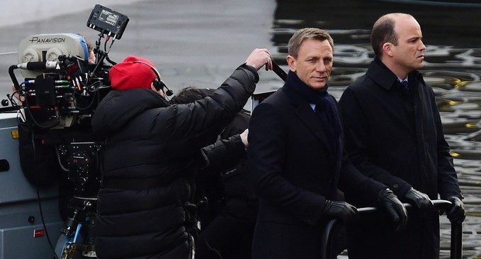 Behind The Scenes Film With James Bond